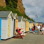 BESIDE THE SEASIDE. SHANKLIN . ISLE OF WIGHT. UK