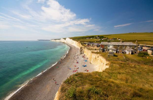 Birling Gap Beach East Sussex Uk Beach Guide