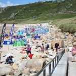 Sennen Beach in July