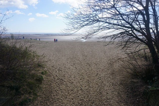 Sketty Lane Beach (Swansea Bay) - Glamorgan