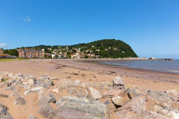 Minehead Beach (The Strand) - Somerset