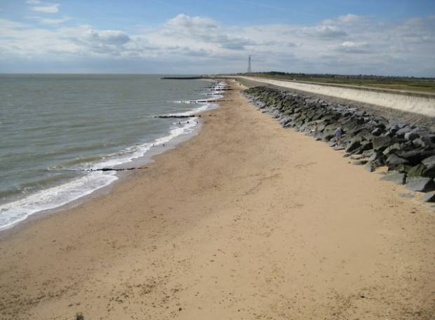 Holland-on-sea Beach - Essex