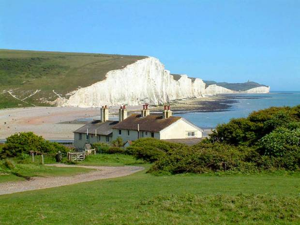 Cuckmere Haven Beach - East Sussex