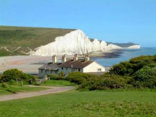 Cuckmere Haven Beach