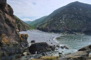 Heddon's Mouth Beach