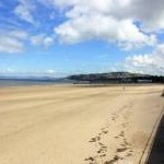 The Beach at Colwyn Bay