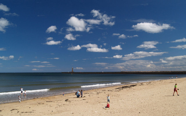 Roker Whitburn South Beach Tyne and Wear UK Beach Guide