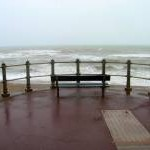 Viewing Stormy Seas, St Leonards
