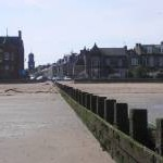 Portobello Beach from the end of the groyne
