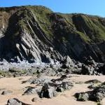 Cliffs at Marloes Sands