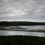 View of Poppit Sands from the viewpoint