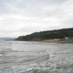 High tide at Benllech