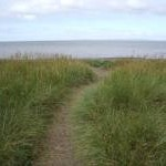 Footpath to the beach at Allonby