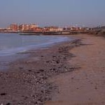 The Beach at Minnis Bay Looking Eastwards