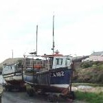 Fishing boats at Abercastle