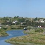 Mahon River and Bunmahon from Knockmahon