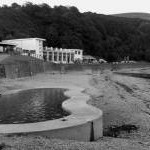 Paddling pool, Port Soderick, Isle of Man