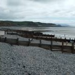 Groynes on St. Bee's Beach
