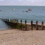 Groyne, boats and shingle