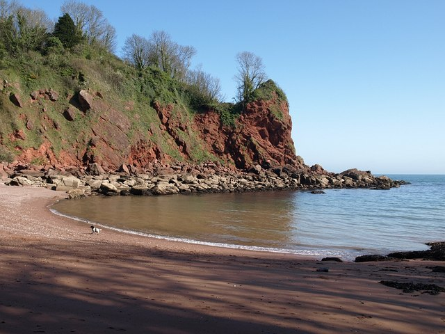 Watcombe Beach Devon Uk Beach Guide