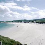 White sands of Vatersay Bay, Vatersay