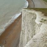 Cliffs above Cuckmere Haven