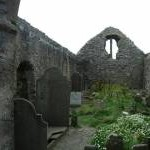Interior of derelict church, Ballinskelligs