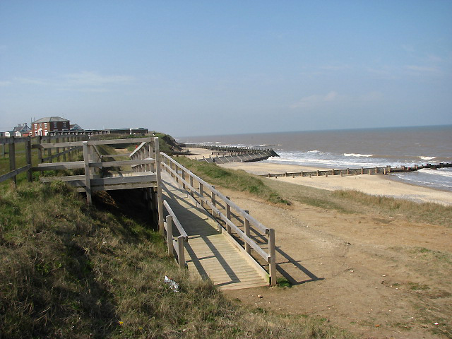 Bacton Beach - Norfolk