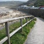 Car park at Sennen Cove