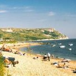 Lazy days on the beach at Ringstead