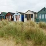 Beach Huts at Mudeford Sandbank