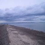 Beach at Findhorn, looking west