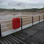 South from Saltburn Pier