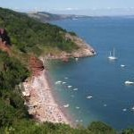 Oddicombe Beach from Babbacombe Downs