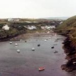 Cwm Badau/Bay of boats, Abercastle 1982