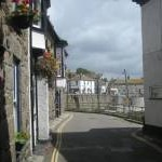 A narrow street in Mousehole