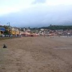 Early evening in Scarborough