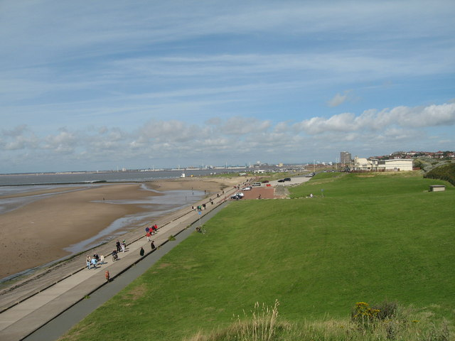 New Brighton (Wallasey) Beach - Merseyside