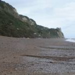 Branscombe beach looking east