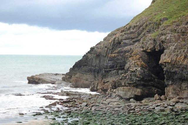 cwmtydu beach