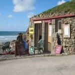 Lifeguard station at Chapel Porth