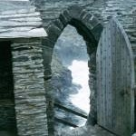 Entrance to Tintagel Castle